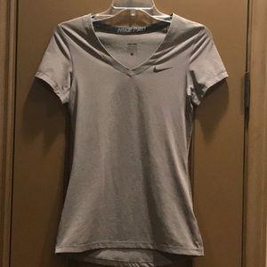 Nike V-Neck Dri Fit shirts